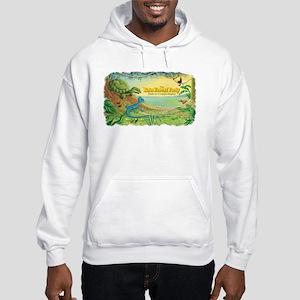 Tropical Rain Forest Hooded Sweatshirt