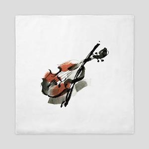 Violin Queen Duvet