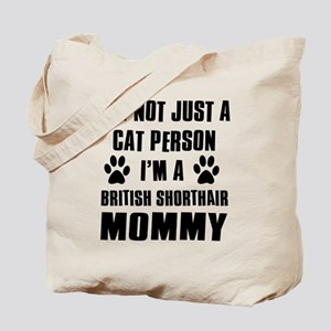 British Short-hair Cat Design Tote Bag