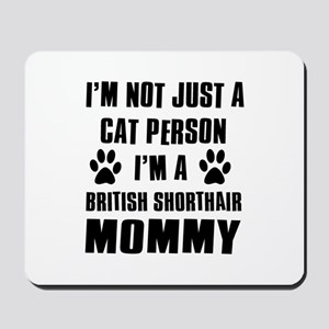 British Short-hair Cat Design Mousepad