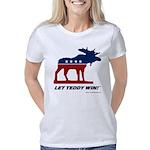 Bull Moose Let Teddy Win Women's Classic T-Shirt