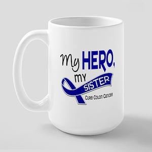 My Hero Colon Cancer Large Mug