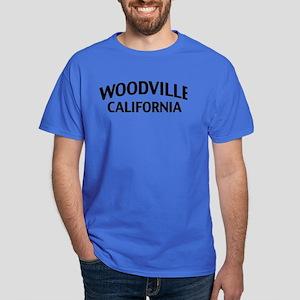 Woodville California Dark T-Shirt