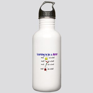 Funny Nursing Student Stainless Water Bottle 1.0L