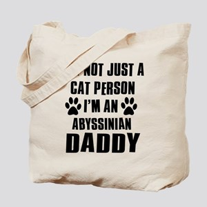 Abyssinian Daddy Tote Bag