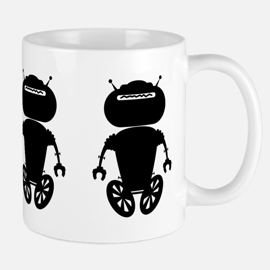 Buy Me 3 Black Antbots Mug