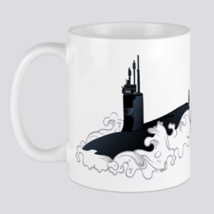 Navy Submariner SSN-21 Mug