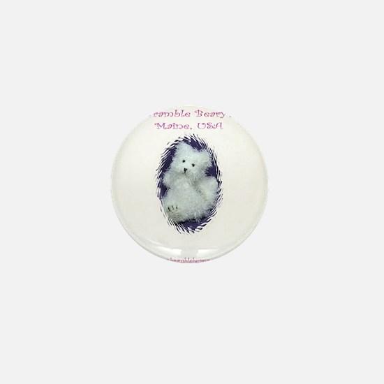 Unique Felted Mini Button