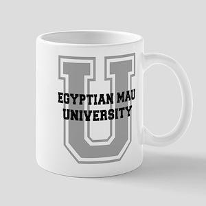 Egyptian Mau UNIVERSITY Mug