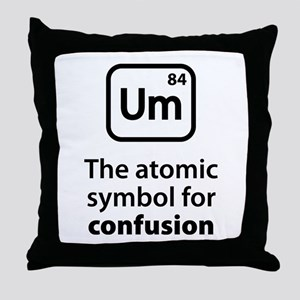 Symbol for Confusion Throw Pillow