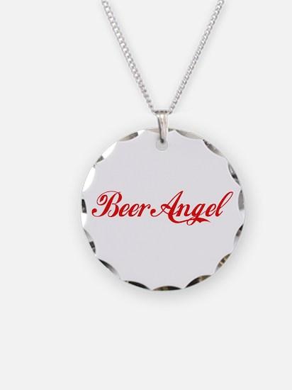Beer Angel Necklace