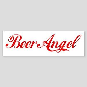 Beer Angel Sticker (Bumper)