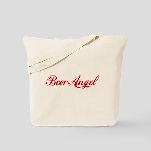 Beer Angel Tote Bag