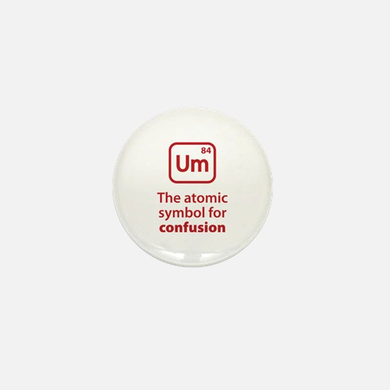 Symbol for Confusion Mini Button