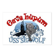 Cave Lupum - USS Seawolf Postcards (Package of 8)