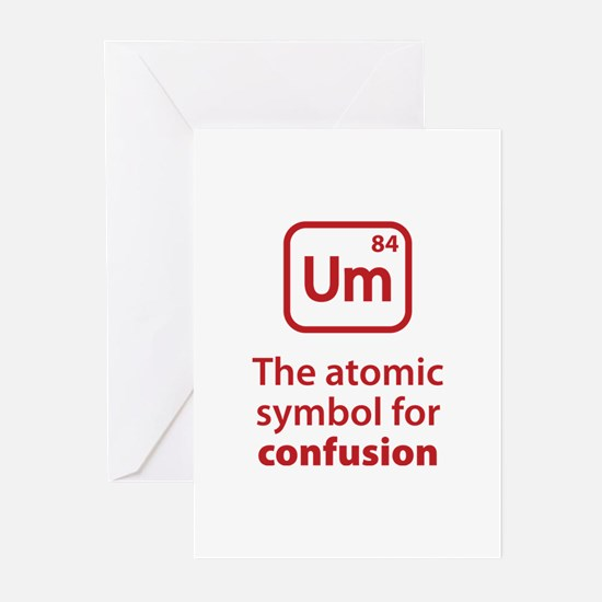 Symbol for Confusion Greeting Cards (Pk of 20)