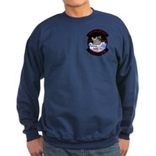 2-Sided Beware The Wolf! Sweatshirt (dark)
