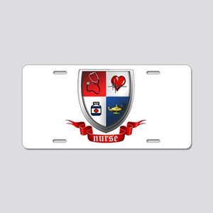 Nursing Crest Aluminum License Plate