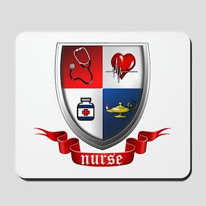 Nursing Crest Mousepad