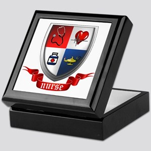 Nursing Crest Keepsake Box
