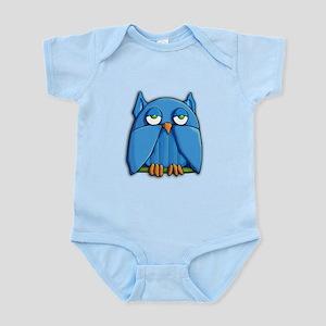 Aqua Owl aqua Infant Bodysuit