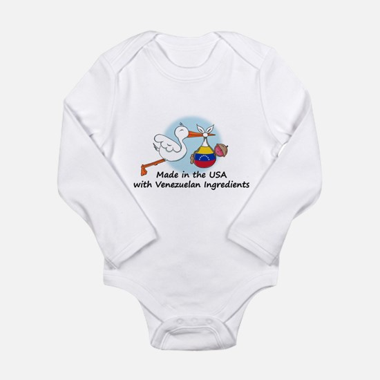 stork baby venez 2 Body Suit