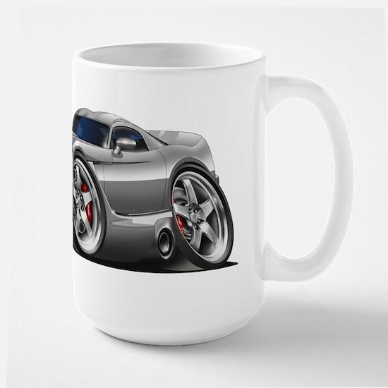 Viper GTS Grey-Silver Car Large Mug