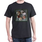Animals Black T-Shirt
