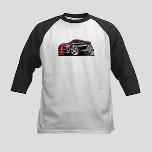 Viper GTS Black-Red Car Kids Baseball Jersey