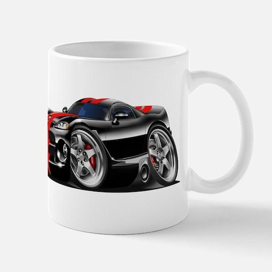 Viper GTS Black-Red Car Mug