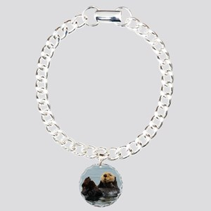 Alaskan Sea Otter Charm Bracelet, One Charm