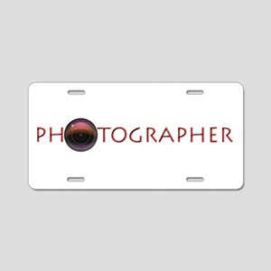 PHOTOGRAPHER-LENS- Aluminum License Plate