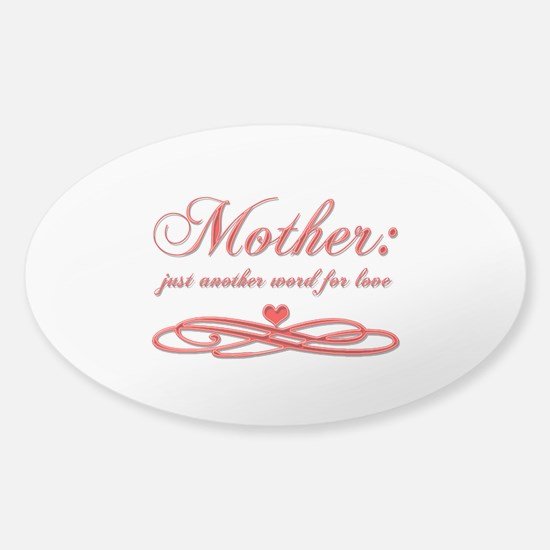 Mother: Sticker (Oval)