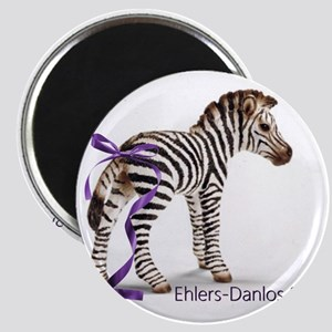 Zebra with Ribbon on Tail Magnet