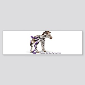 Zebra with Ribbon on Tail Sticker (Bumper)