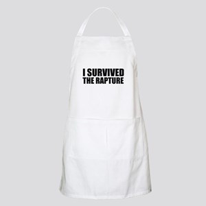 I Survived The Rapture Again Apron