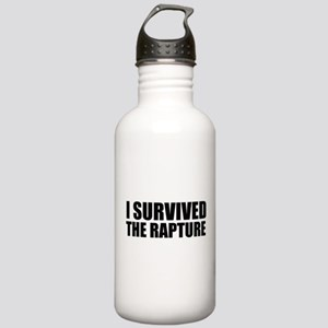 I Survived The Rapture Again Stainless Water Bottl