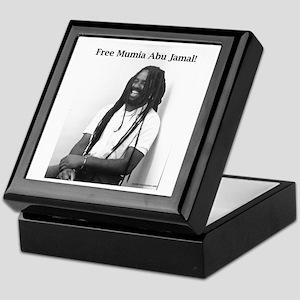 Mumia Abu Jamal Keepsake Box