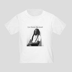 Mumia Abu Jamal Toddler T-Shirt