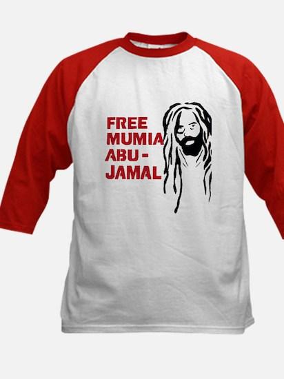 Mumia Abu Jamal Kids Baseball Jersey