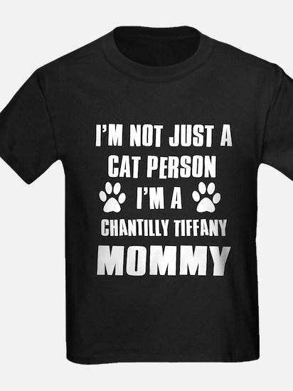 Chantilly Tiffany Cat Design T
