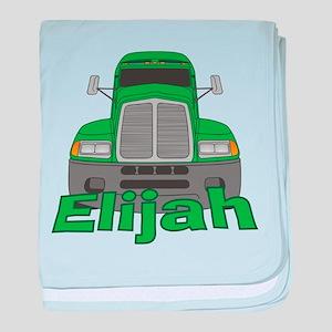 Trucker Elijah baby blanket