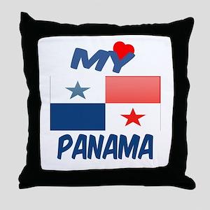 My Love Panama Throw Pillow