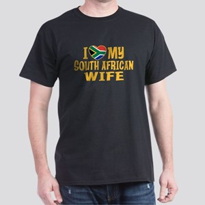 South African Wife Dark T-Shirt