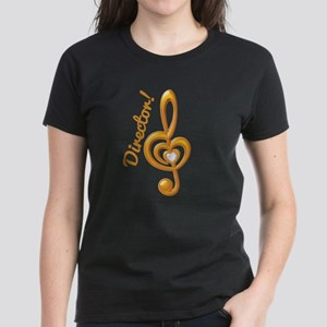Music Director Treble Clef Women's Dark T-Shirt