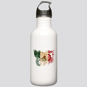 Mexico Flag Stainless Water Bottle 1.0L