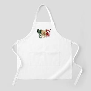 Mexico Flag Apron