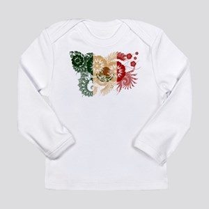 Mexico Flag Long Sleeve Infant T-Shirt