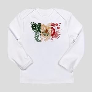 Mexico Flag Long Sleeve Infant T-Shirt