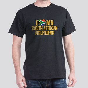 South African Girlfriend Dark T-Shirt